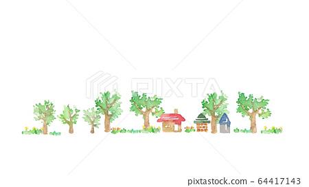 郊區景觀 64417143