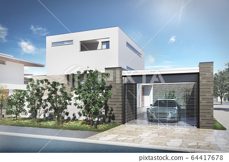 Detached houses 64417678