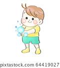兒童洗手(夏季衣服) 64419027