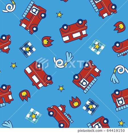 消防車模式 64419150