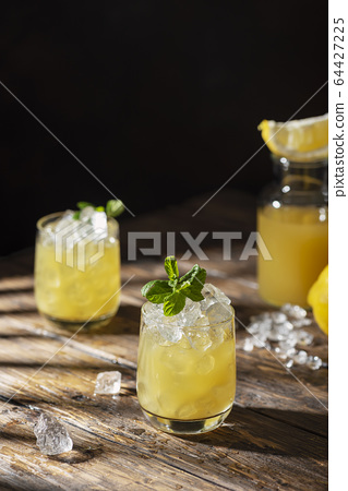 Summer cold cocktail 64427225