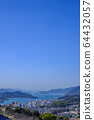 Overlooking the city of Onomichi, Hiroshima 64432057