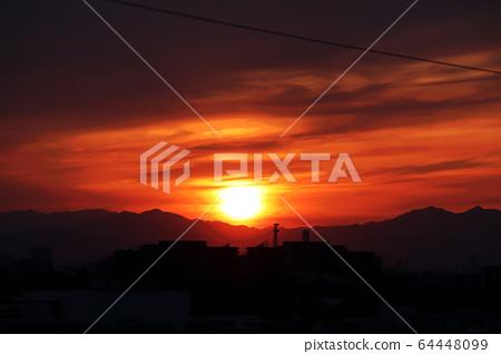 sunset 64448099