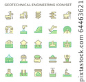 Geotechnical engineering and soil testing vector 64463621