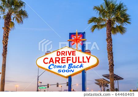 Las Vegas Sign 64468405