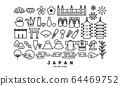 Japan line icon 64469752