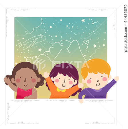 Kids Picture World Photo Day Illustration 64486879