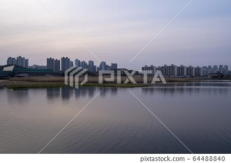 화랑저수지,안산시,경기도 64488840