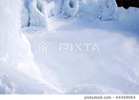 스케이트장 시코 얼음 우의 축제 홋카이도 겨울 여행 64489064