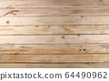 Brown wood plank. Old wood texture background. 64490962