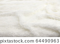 Closeup of White cloth background. 64490963
