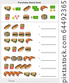 Purchase these food worksheet. Check product prices and summary - Worksheet for education. 64492365