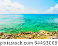 美麗的宮古島海洋動漫風格 64493009
