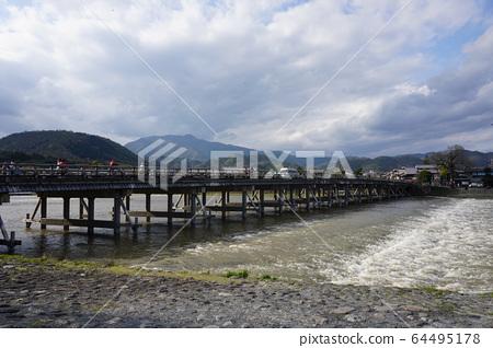 Kyoto Arashiyama Togetsu Bridge 64495178