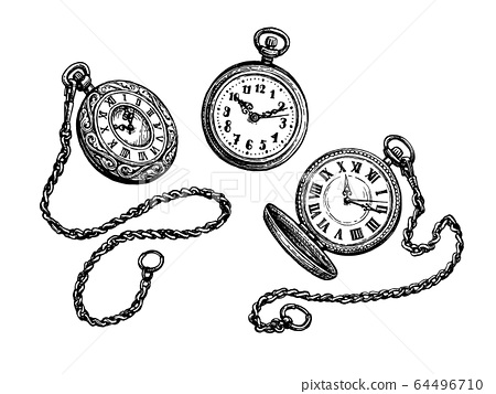 Pocket watch set. 64496710