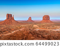 Monument Valley, Arizona, USA 64499023