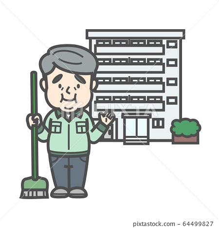 Condominium manager 64499827