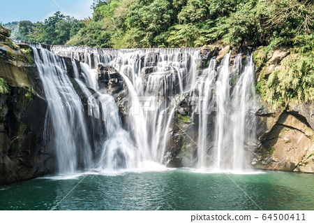 Shihfen Waterfall, Fifteen meters tall and 30 64500411