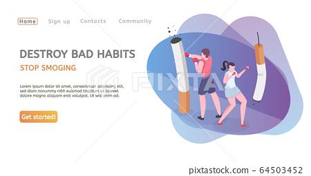Stop Smoking Web Page 64503452