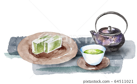日本茶和洋甘菊 64511021