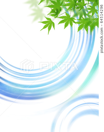 Background-summer-water surface 64514296