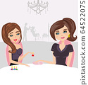 beauty salon - manicure and hairdresser 64522075