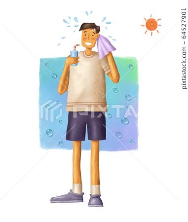 夏季保健 64527901