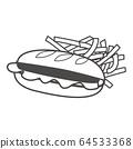 三明治 64533368