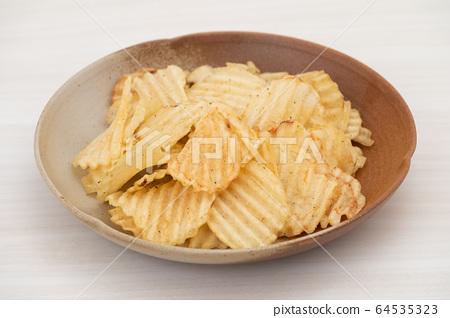 薯片鋸齒狀土豆 64535323