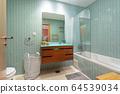 Modern bathroom . European hotel design. and inside 64539034