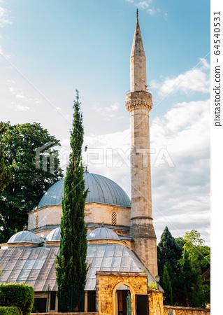 Karagoz Bey mosque in Mostar, Bosnia and Herzegovina 64540531