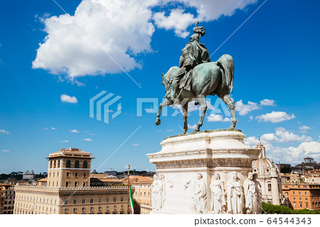 Altar of the Fatherland (Altare della Patria). National Monument to Victor Emmanuel II in Italy 64544343
