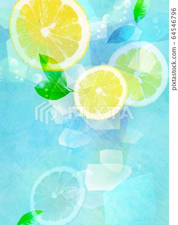 檸檬汽水 64546796