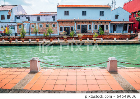Malacca river town, UNESCO World Heritage Site in Malaysia 64549636