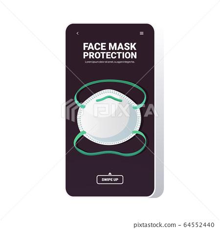 antiviral medical respiratory face mask coronavirus protection covid-19 prevention 64552440