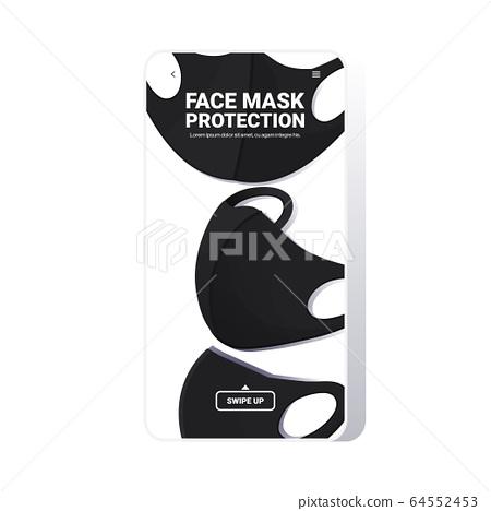 antiviral medical respiratory face masks coronavirus protection covid-19 prevention 64552453