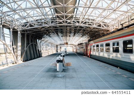 Vladivostok International Airport railway station in Russia 64555411