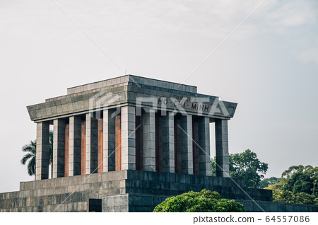 Ho Chi Minh Mausoleum in Hanoi, Vietnam 64557086
