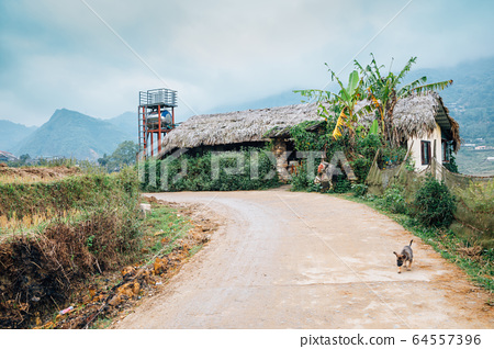 Lao Chai countryside village in Sapa, Vietnam 64557396