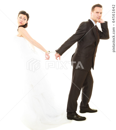 Relationship in married couple. 64561642