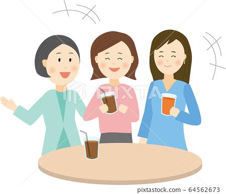 Women talking 64562673