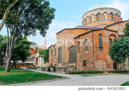 Topkapi Palace in Istanbul, Turkey 64563861