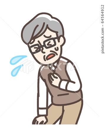 呼吸急促祖父洛科莫 64564912