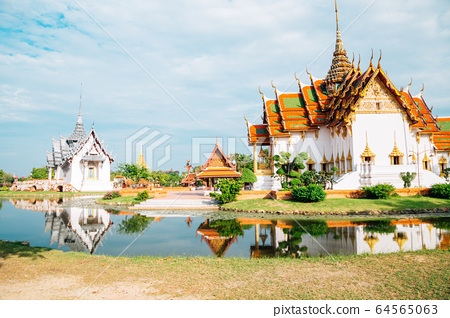 Ancient City Mueang Boran in Samut Prakan, Thailand 64565063
