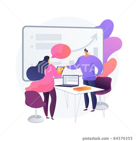Business consultation vector concept metaphor 64570355