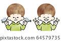 소년 - 불결한 손 - 깨끗한 손 - 수채화 64579735