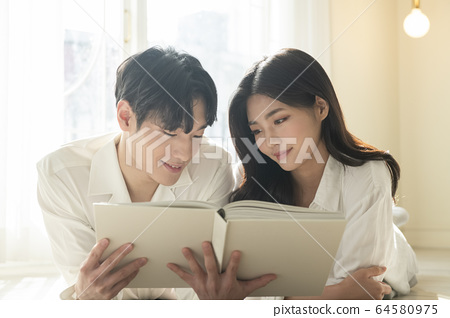 라이프스타일,남녀,신혼부부 64580975