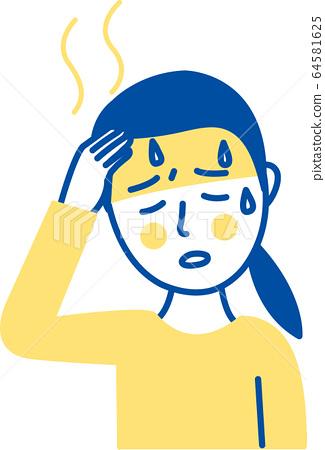 New corona symptoms fever 64581625