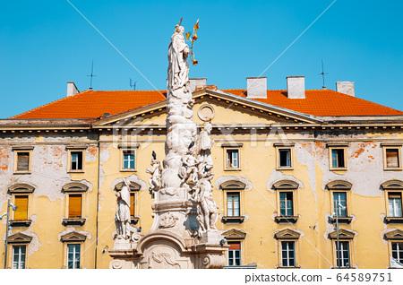 Liberty's Square in Timisoara, Romania 64589751