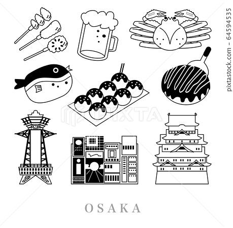 大阪旅行線圖 64594535